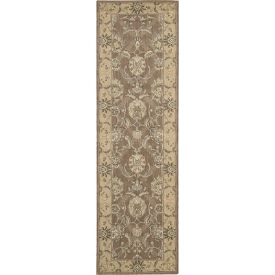 Dowdell Mocca Area Rug Rug Size: Runner 23 x 8