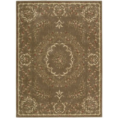 Latham Brown Area Rug Rug Size: 79 x 1010
