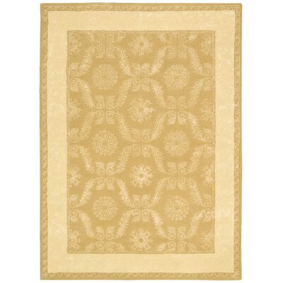 Reid Gold Rug Rug Size: Rectangle 56 x 75