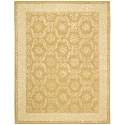 Reid Gold Rug Rug Size: Rectangle 76 x 96