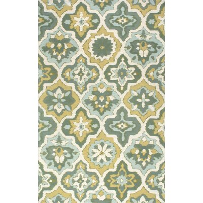 Bienville Green Area Rug Rug Size: 5 x 8