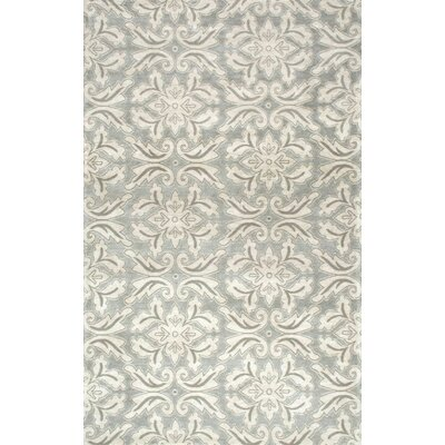 Boris Green Area Rug Rug Size: 8 x 10