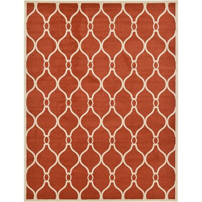 Duluth Terracotta Area Rug Rug Size: 9 x 12