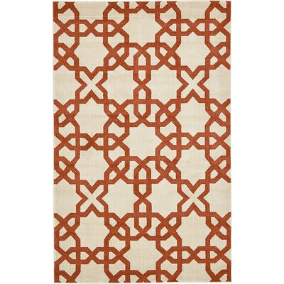 Molly Turkish Beige Area Rug Rug Size: 5 x 8