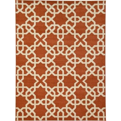 Duluth Brown/Beige Area Rug Rug Size: 9 x 12