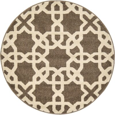 Duluth Light Brown Area Rug Rug Size: 5 x 8