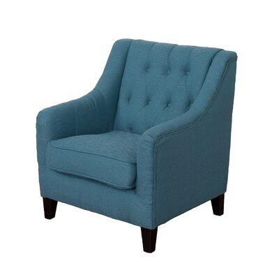 Ellettsville Arm chair Upholstery: Blue