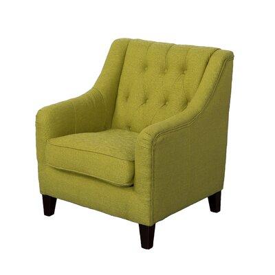 Ellettsville Armchair Upholstery: Green