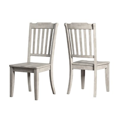 Back Bay Side Chair Finish: Antique White