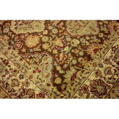 Fairmount Brown Area Rug Rug Size: Round 6