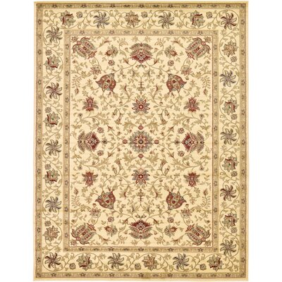 Fairmount Cream Area Rug Rug Size: 7' x 10'