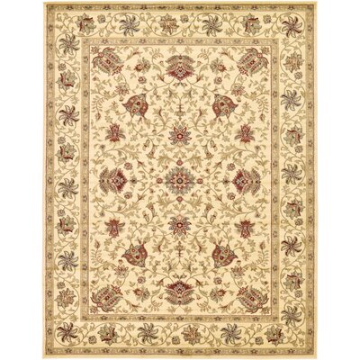Fairmount Cream Area Rug Rug Size: 5' x 8'