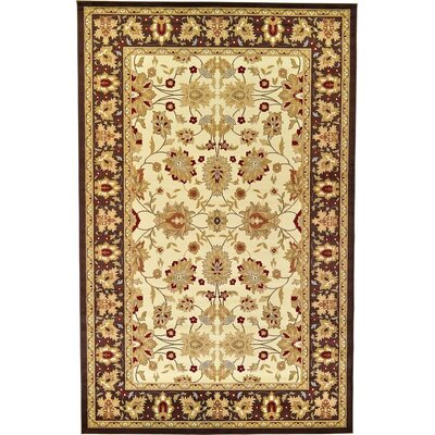 Fairmount Cream Area Rug Rug Size: 106 x 165