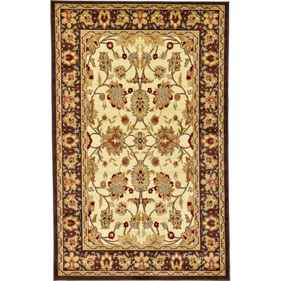 Fairmount Cream Area Rug Rug Size: Square 4