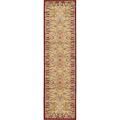 Fairmount Tan Area Rug Rug Size: Runner 27 x 10