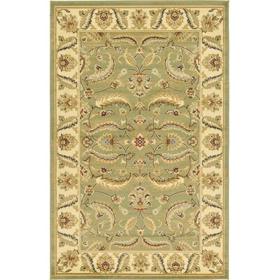 Fairmount Green Area Rug Rug Size: 5' x 8'