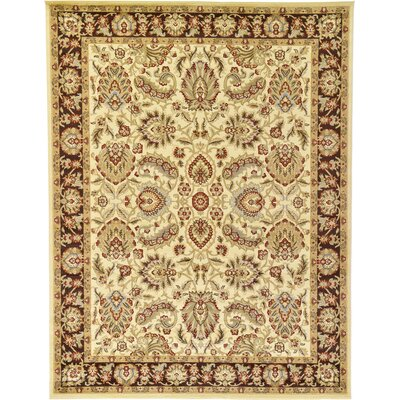 Fairmount Cream Area Rug Rug Size: 5 x 8