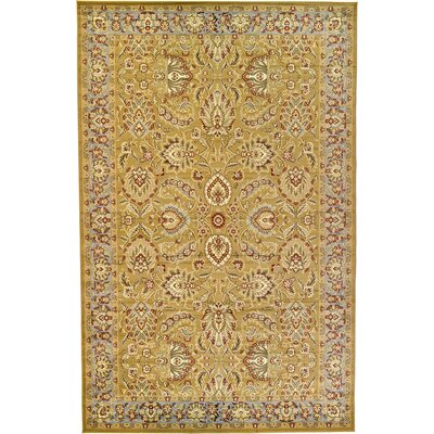 Fairmount Tan Area Rug Rug Size: 106 x 165