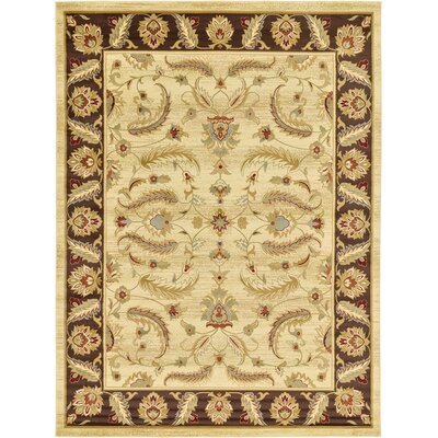 Fairmount Cream Area Rug Rug Size: Square 10