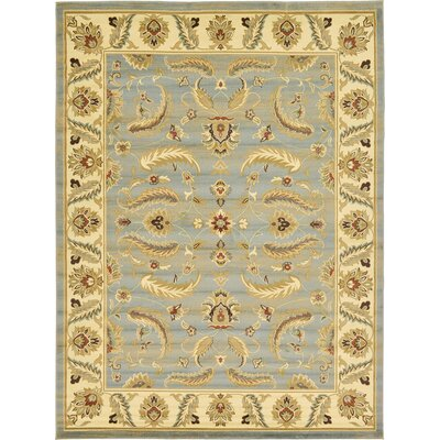 Fairmount Light Blue Area Rug Rug Size: 9' x 12'