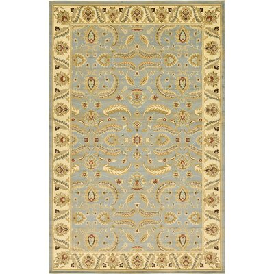 Fairmount Light Blue Area Rug Rug Size: 10'6