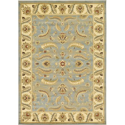 Fairmount Light Blue Area Rug Rug Size: 7 x 10