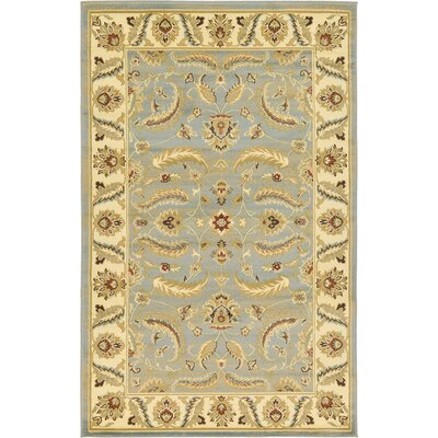 Fairmount Light Blue Area Rug Rug Size: 5' x 8'