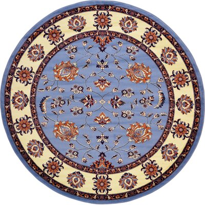 Fairmount Blue Area Rug Rug Size: Rectangle 5 x 8