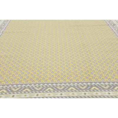 Gillam Yellow Area Rug Rug Size: 10' x 13'