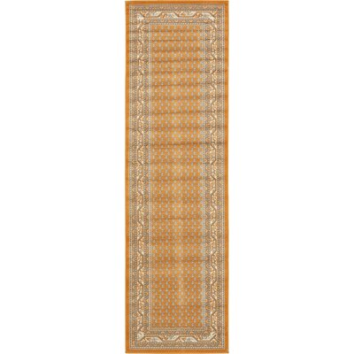 Gillam Orange Area Rug Rug Size: Runner 2'9