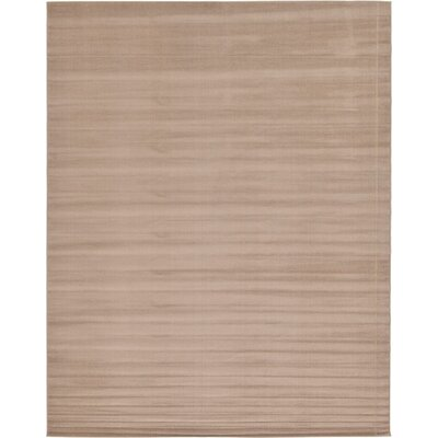 Bayswater Light Brown Area Rug Rug Size: Rectangle 10' x 13'