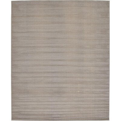 Gillam Gray Area Rug Rug Size: 8 x 10