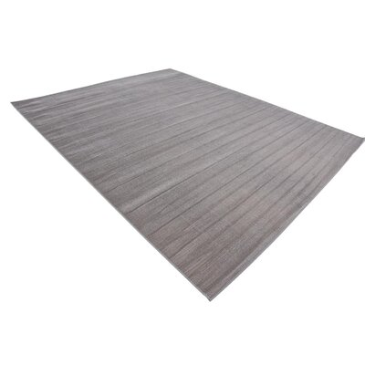 Bayswater Gray Area Rug Rug Size: Rectangle 8' x 10'