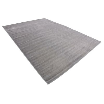 Bayswater Gray Area Rug Rug Size: Rectangle 7 x 10