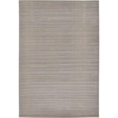 Gillam Gray Area Rug Rug Size: 6 x 9