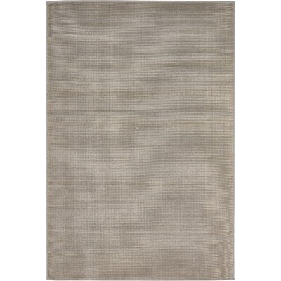 Gillam Gray Area Rug Rug Size: Rectangle 4 x 6