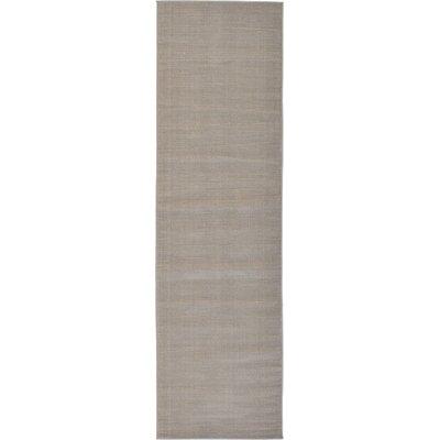 Gillam Gray Area Rug Rug Size: Runner 29 x 910