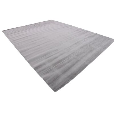 Gillam Gray Area Rug Rug Size: Rectangle 10 x 13