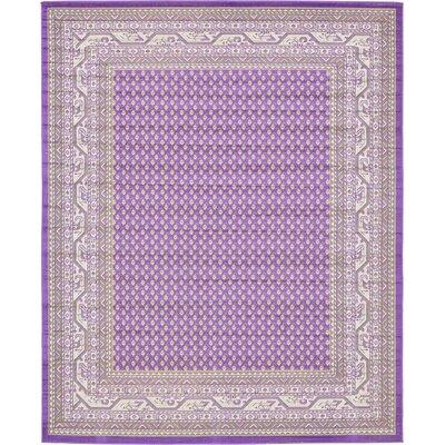 Gillam Violet Area Rug Rug Size: 8 x 10