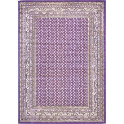 Gillam Violet Area Rug Rug Size: 7 x 10