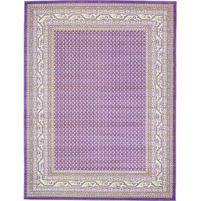 Gillam Violet Area Rug Rug Size: 9' x 12'
