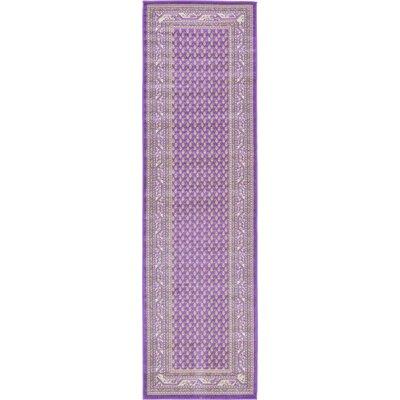 Gillam Violet Area Rug Rug Size: Runner 2'9