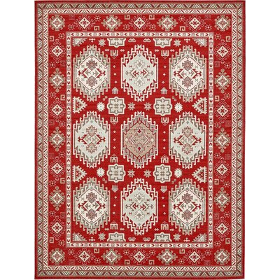Gillam Red Area Rug