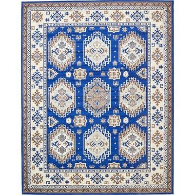 Gillam Navy Blue Area Rug Rug Size: 10' x 13'