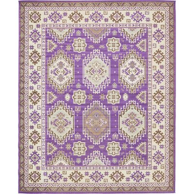 Gillam Violet Area Rug Rug Size: 8' x 10'