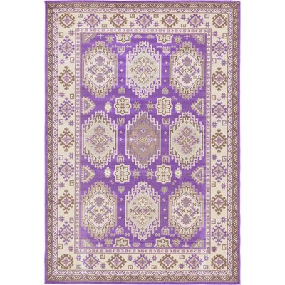 Gillam Violet Area Rug Rug Size: 6' x 9'
