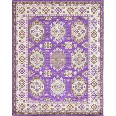 Gillam Violet Area Rug Rug Size: 10' x 13'