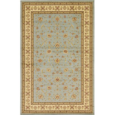 Lightfoot Cream Area Rug Rug Size: Runner 27 x 10