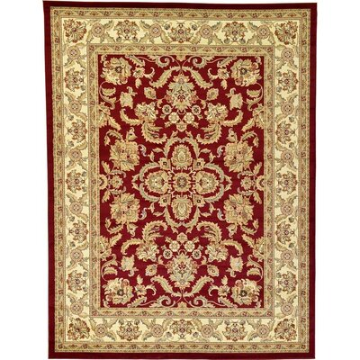 Roseland Red Area Rug