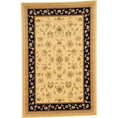 Niles Rectangle Beige Area Rug